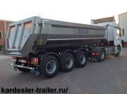 Самосвальный полуприцеп 30-33м3 Kardesler Trailer Alim